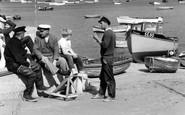 Salcombe, Fishermen 1962