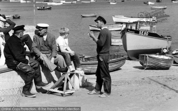 Photo of Salcombe, Fishermen 1962