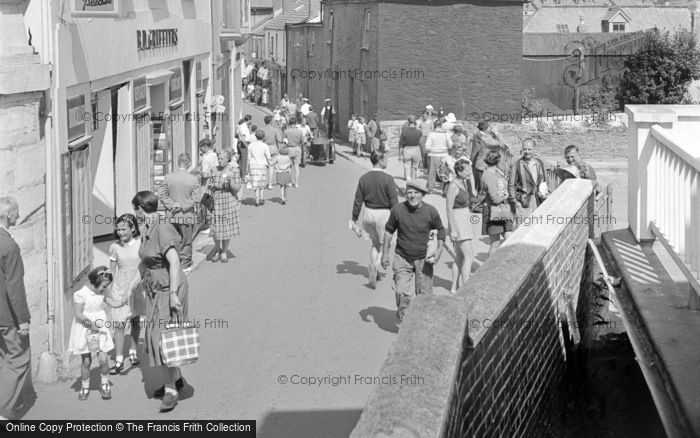 Photo of Salcombe, Fore Street 1951
