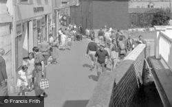 Salcombe, Fore Street 1951