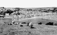 Salcombe, from East Portlemouth c1960