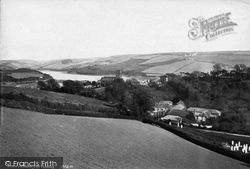 Salcombe, From Estuary 1890