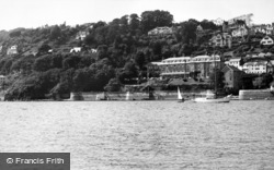 Salcombe, From Fisherman's Cove 1959