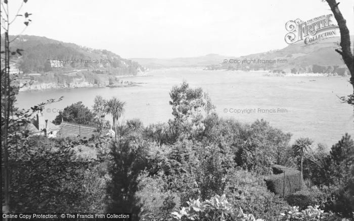 Photo of Salcombe, Harbour From West c.1935