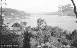 Salcombe, Harbour From West c.1935