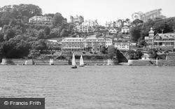 Salcombe, Marine Hotel And Cliff House 1959