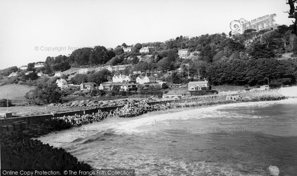 Photo of Salcombe, North Sands c.1965