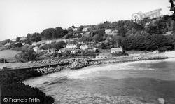 Salcombe, North Sands c.1965