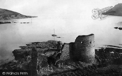 Salcombe, Old Castle 1890
