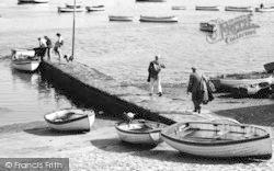 Salcombe, On The Slipway c.1965