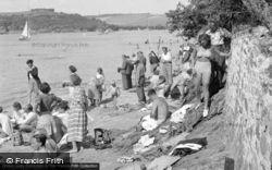 Salcombe, Portlemouth Beach 1951