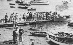 Salcombe, Queue For The Ferry c.1951