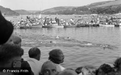 Salcombe, Regatta Swimming Races 1951