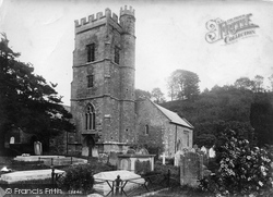 Salcombe Regis, Church Of St Mary And St Peter 1906