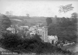 Salcombe Regis, The Village 1906