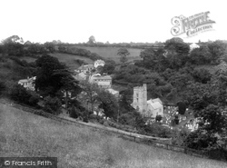 Salcombe Regis, The Village And Church 1928
