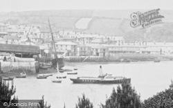 Salcombe, 'reindeer' In The Harbour 1895