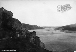 Salcombe, Salcombe Road And Bolt Head 1890