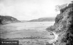 Salcombe, South Sands 1922