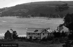 Salcombe, South Sands Hotel 1935