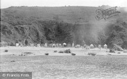 Salcombe, Sunny Cove c.1935