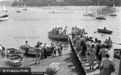 Salcombe, The Ferry 1951