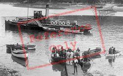 Salcombe, The Ferry c.1935