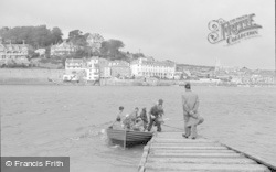 Salcombe, The Ferry c.1950