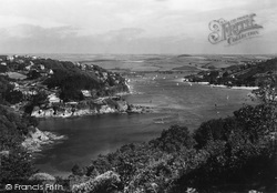 Salcombe, View From Bolt Head c.1935