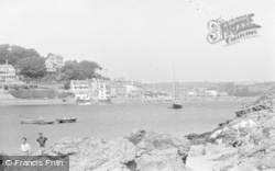 Salcombe, View From Mill Bay c.1935
