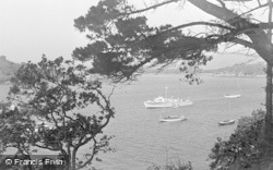 Salcombe, View From Portlemouth c.1935