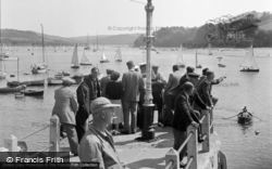 Salcombe, View From The Ferry 1951