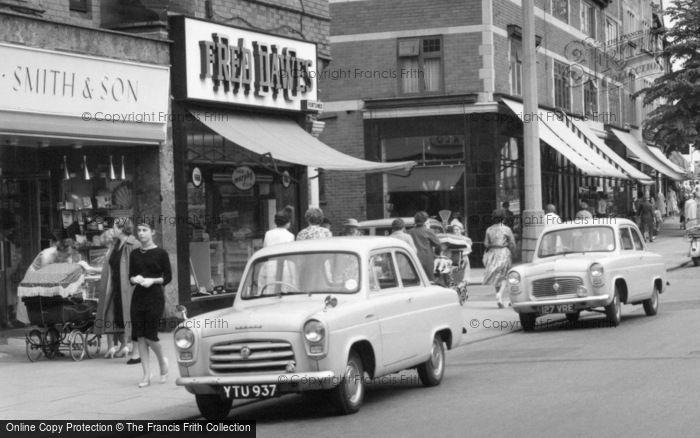 Sale, Cars, School Road 1961