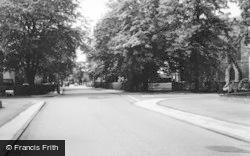 Sale, Moss Lane Corner And Harboro Road c.1960