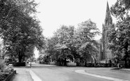 Sale, Moss Lane Corner c1955