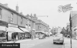 Sale, Northenden Road, Sale Moor c.1955