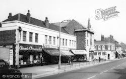 Sale, Shops, Washway c.1965