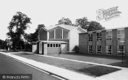 Sale, The Avenue Methodist Church c.1965