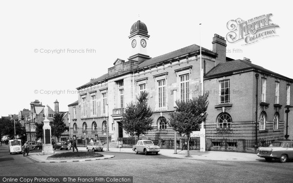 Sale, the Town Hall c1960