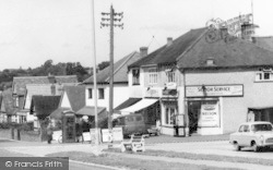 Salfords, Shops On Brighton Road c.1960