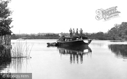 Boat On The Broads 1921, Salhouse