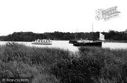 Boats On Salhouse Broad c.1940, Salhouse