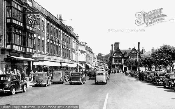 Photo of Salisbury, Blue Boar Row c.1950