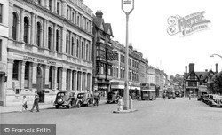 Salisbury, Blue Boar Row c.1950