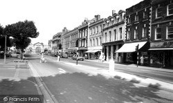 Salisbury, Blue Boar Row c.1965