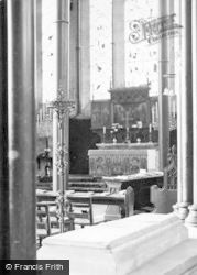 Salisbury, Cathedral, Lady Chapel And St Osmund's Tomb 1914