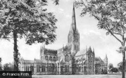 Salisbury, Cathedral, North East 1911