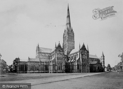 Salisbury, Cathedral, North East c.1872