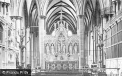Salisbury, Cathedral, The Altar 1914