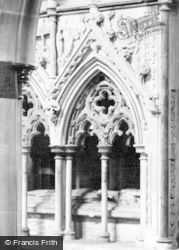 Salisbury, Cathedral, Tomb Of Bishop Giles De Bridport 1914
